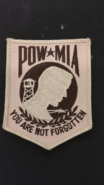 POW MIA YOU ARE NOT FORGOTTEN PATCH
