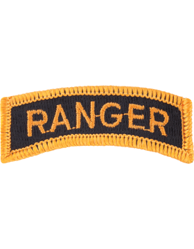 FULL COLOR RANGER TAB GOLD ON BLACK