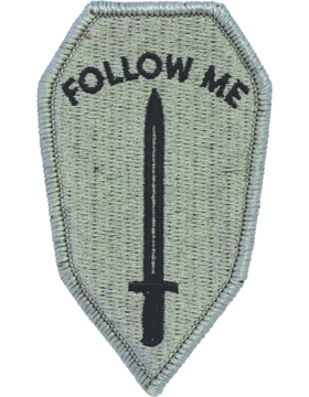 ACU INFANTRY SCHOOL / FOLLOW ME VELCRO PATCH