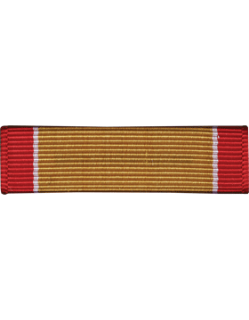 U.S. COAST GUARD GOLD LIFESAVING MEDAL RIBBON