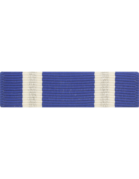 NATO NON-ARTICLE 5 IRAQ-AFGHAN RIBBON 2 SILVER STRIPES