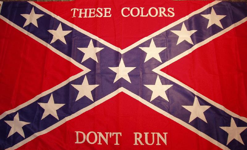 3'X5' CONFEDERATE THESE COLORS DON'T RUN FLAG