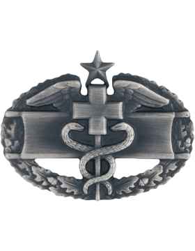 SILVER OXIDE COMBAT MEDICAL 2ND AWARD PIN