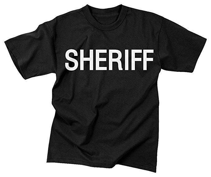 MEN'S SHERIFF TSHIRT