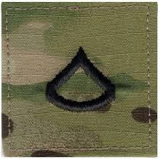 SCORPION PRIVATE 1ST CLASS VELCRO