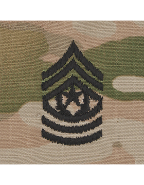 SCORPION COMMAND SERGEANT MAJOR 2X2 SEW-ON SHIRT RANK