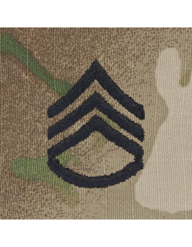 SCORPION STAFF SERGEANT SEW-ON CAP RANK