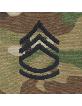 SCORPION SERGEANT 1ST CLASS SEW-ON CAP RANK
