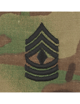SCORPION 1ST SERGEANT SEW-ON CAP RANK