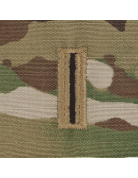 SCORPION WARRANT OFFICER 5 2X2 SEW-ON SHIRT RANK