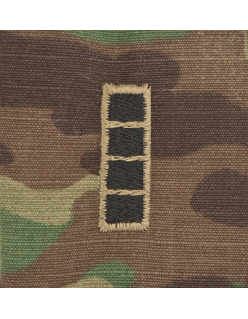 SCORPION WARRANT OFFICER 4 2X2 SEW-ON SHIRT RANK