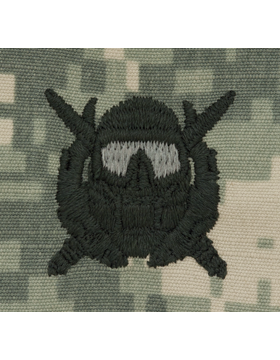ACU SPECIAL OPERATIONS DIVER SEW-ON PATCH