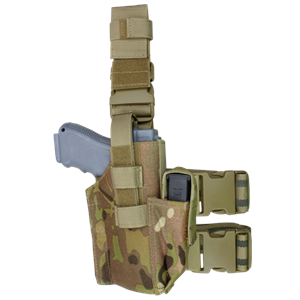 CONDOR TLH-008 Tactical Leg Holster - MultiCam
