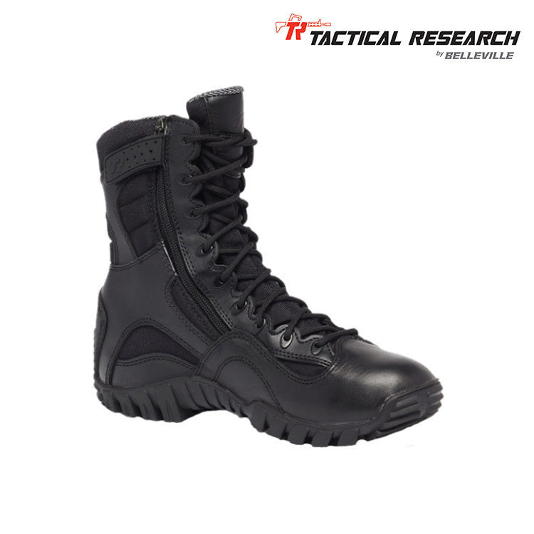 Tactical Research Khyber TR960Z Hot Weather Lightweight Side-Zip Tactical Boots