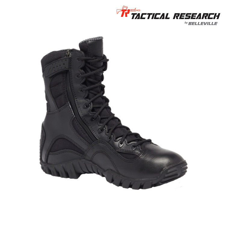Tactical Research Khyber TR960Z WP Lightweight Waterproof Side-Zip Tactical Boots