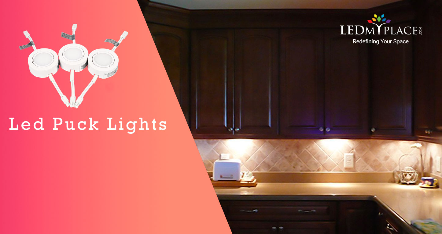 Led Puck Lights For Distinct Kitchens Ledmyplace