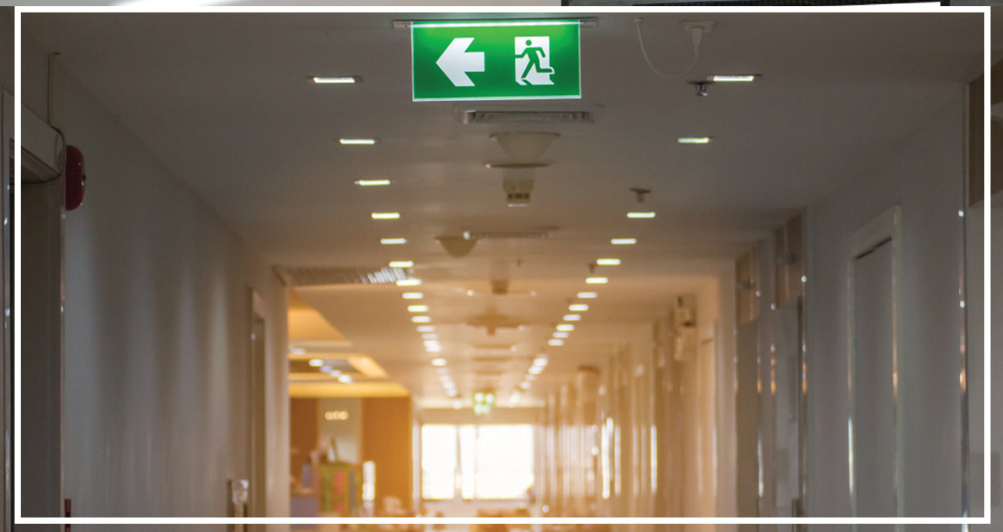 LED Exit Sign/Emergency Lights