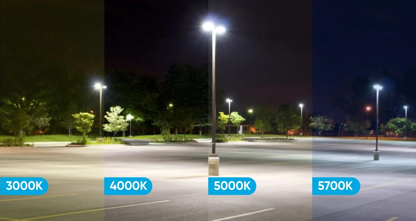 cct - led parking lot lights
