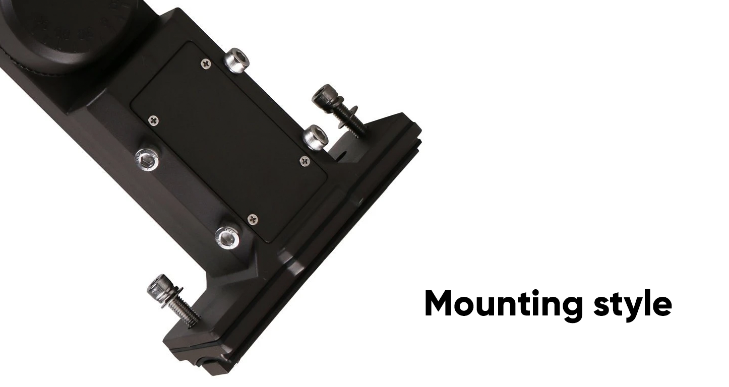 Mounting style