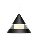 Load image into Gallery viewer, Cone Pendant Lighting for Dining Rooms, 5W, 3000K (Warm White), Dimmable