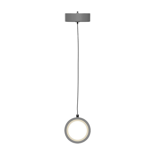 Circline Architectural, LED Vertical Circular Pendant, 8W, 3000K, Modern Pendant Lighting, Dimmable, 400LM