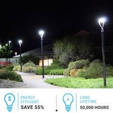 Load image into Gallery viewer, LED Post-Top / Garden Light with Photocell 150 Watts ; AC100-277V ; Bronze