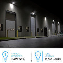 Load image into Gallery viewer, LED Semi-Cutoff Wall Pack Light, 5700K, UL DLC IP65 Waterproof