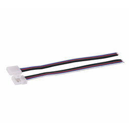22AWG, 5 Pin, 10mm Width PCB, RGBW Strip-to-Wire