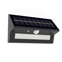 Smart LED Solar Wall Lamp with PIR Sensor (HY39WSRB)