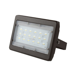 LED Flood Light - 30 Watt - 5700K - Bronze Finish Flood Mount