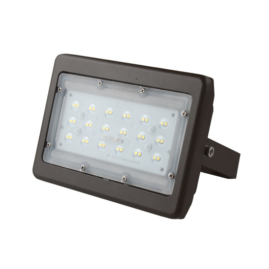 30 watt LED Flood Light, 150 Watt Replacement, 5700K, Bronze Finish, for Backyard, Garden, Playground, Court