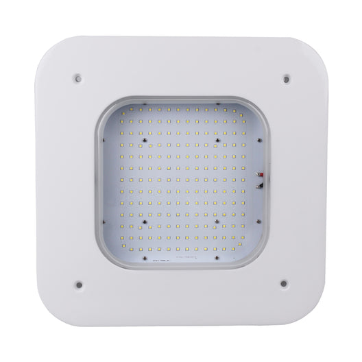 150W Gas Station LED Canopy Light, 17242 Lumens, 5700K
