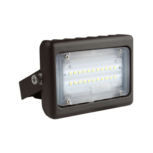 LED Flood Light - 15W Flood Mount 5700K - Bronze