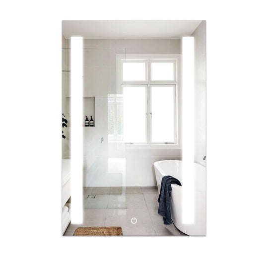 "36"" x 48"" LED Bathroom Lighted Mirror Defogger On/Off Touch Switch & CCT Changeable With Remembrance Vertical"