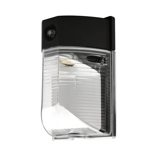 13 Watt Mini LED Wall Pack Fixtures, 5700K (Dusk-to-Dawn Photocell,Waterproof IP65)