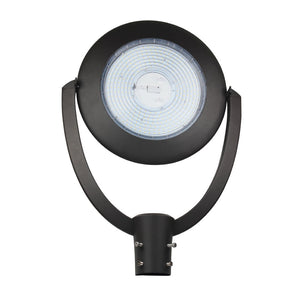 LED Post-Top / Garden Light with Photocell 150 Watts ; AC100-277V ; Bronze