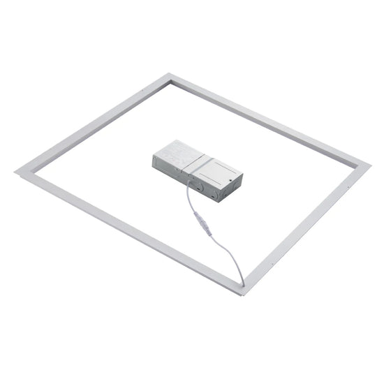 2x2ft LED T-Bar Panel Light - 40W 5000K - CRI 80 - ETL Listed