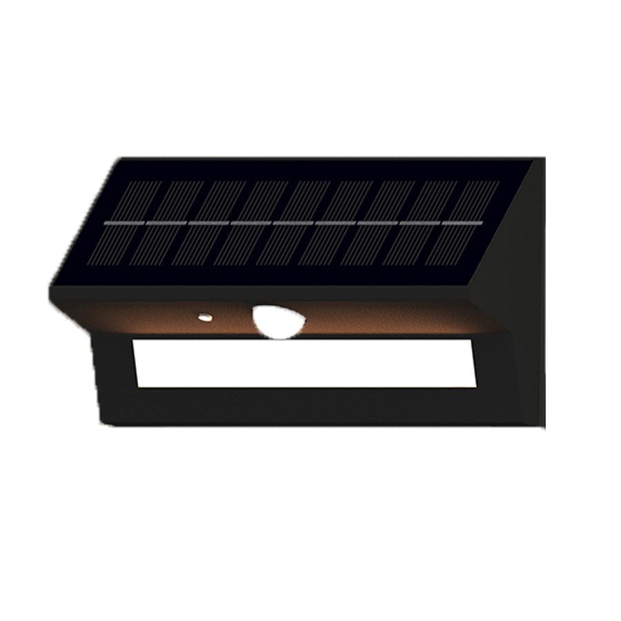 6W, Smart Solar Outdoor LED Wall Lights with PIR Sensor - Based Motion Detectors (HY39WSRB)