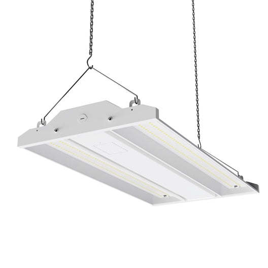 2ft - LED Linear High Bay Light 165W - 5700K - Clear Cover Dimmable