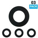 Load image into Gallery viewer, 3-Pack Trim Only For Magnetic LED Puck Light, Black