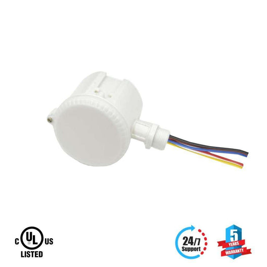360° 3 Step Dimming Motion & Daylight Sensor for Linear High bay - 49ft max height - LEDMyplace