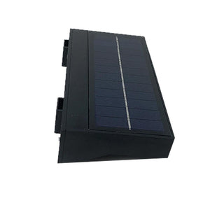 Smart LED Solar Wall Lamp with PIR Sensor, 6W, Rectangle, (HY01WSRB)