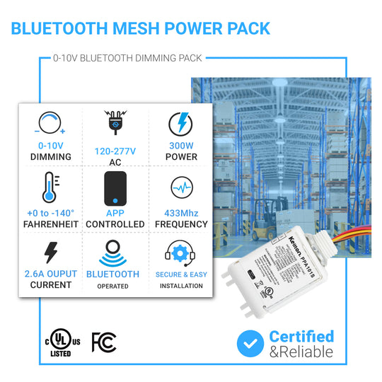 Power Pack-Single Bluetooth Wireless Control System 0-10V