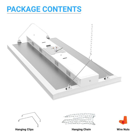2FT LED Linear High Bay - 165W 5000K