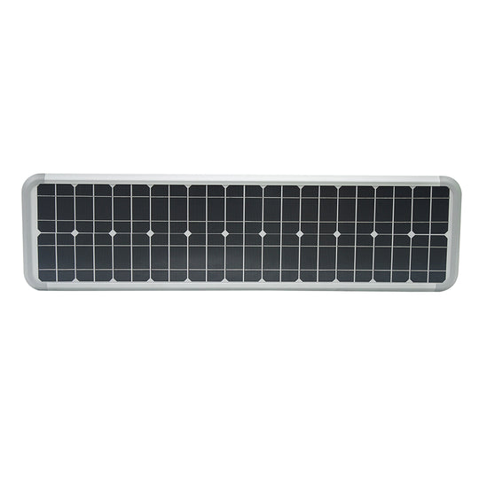 40W Solar LED Street Light ; 5700K ; 18VDC ; Silver