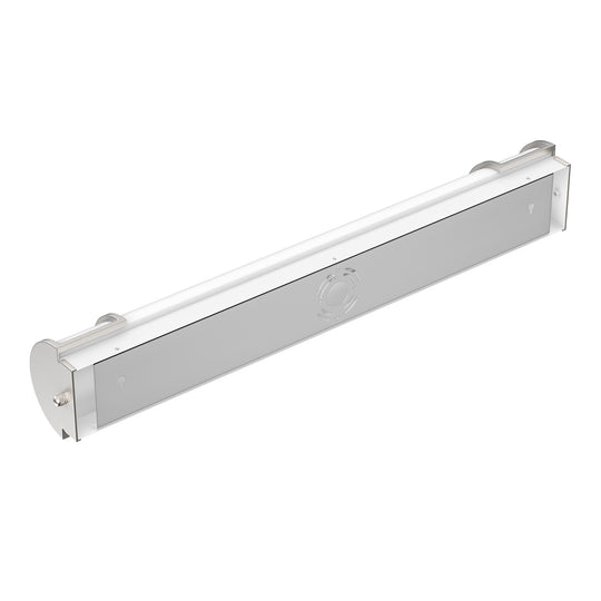 Half Cylinder LED Vanity Light Fixture, CCT Changeable, Dimmable , Brushed Nickel Finish, Bathroom Vanity Wall Lights