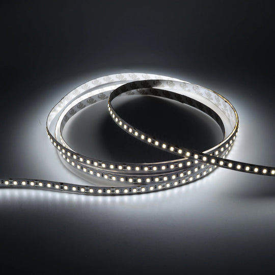 White LED Strip Light - 24V - IP20 - 879 Lumens/ft with Power Supply and Controller (KIT)