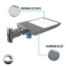 Load image into Gallery viewer, 300W LED Pole Light With Photocell