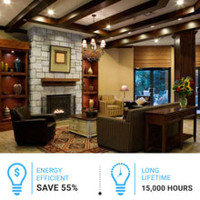 Load image into Gallery viewer, A19 LED Light Bulbs 5000K - 9 Watt - 800lm Non-Dimmable - Day Light White