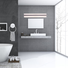 Load image into Gallery viewer, Rectangle LED Vanity Lights, 24 Inch/36 Inch, 4000K (Cool White), Dimmable, ETL Listed, Bathroom Vanity Wall Lights